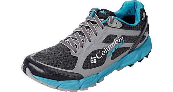 Columbia Caldorado II Outdry - Chaussures running Femme - gris/turquoise